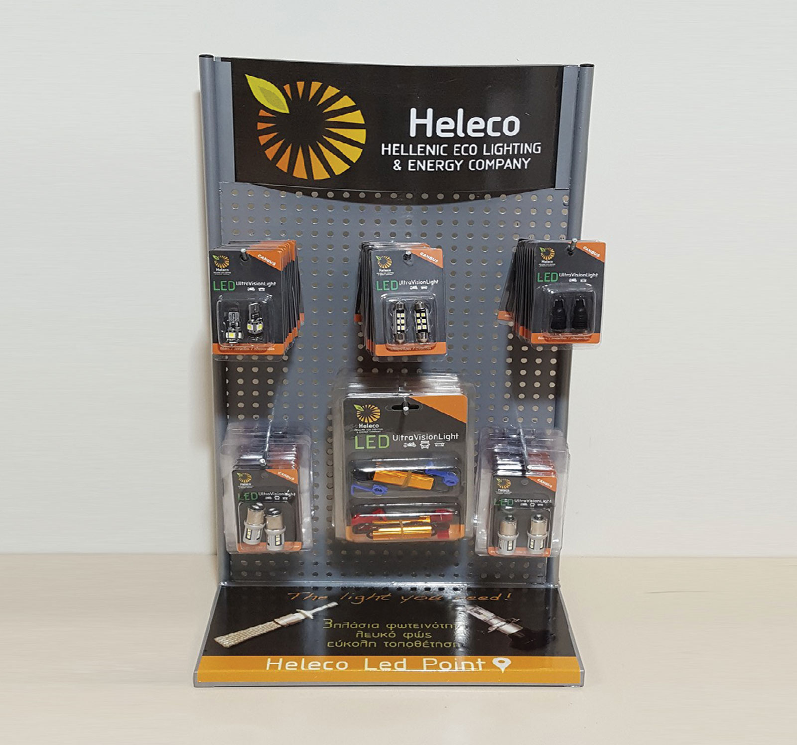 <span>Heleco lamp package</span><i>→</i>
